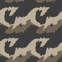 Motif de camouflage. Sans couture. Contexte militaire. Soldat camou vecteur