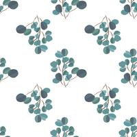 Brightl fond moderne avec des feuilles de jungle. Motif exotique avec des feuilles de palmier. Illustration vectorielle vecteur
