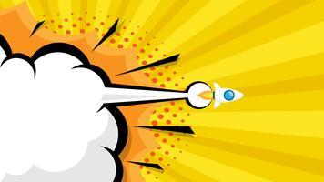 lancement de la fusée vecteur