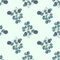 Fond moderne clair avec des feuilles de jungle. Motif exotique avec des feuilles de palmier. Illustration vectorielle