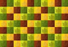 Motif de vecteur automne feuille d'érable