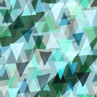 Fond transparent de couleur triangle.