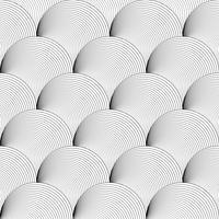 Modèle sans couture de fond noir et blanc sur l'art vectoriel.