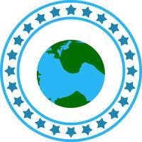 Icône de globe terrestre