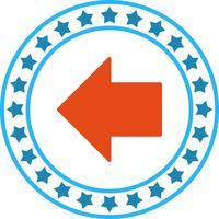Icône de flèche gauche LeftWard