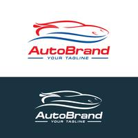 Vecteur de logo de voiture, création de modèle de société auto logo vector