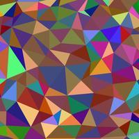 abstrait multicolor composé de triangles vecteur