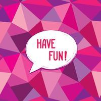 Amusez-vous à écrire des bulles de dialogue. Signe drôle Invitation à la fête.
