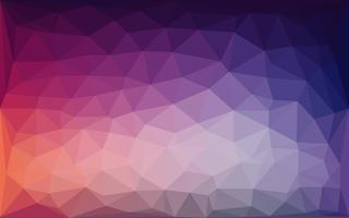 Abstrait violet bleu lowpoly vecteur