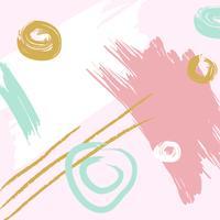 Artistique abstrait coloré vecteur