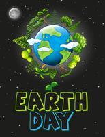 Une icône du jour de la terre