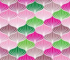 Modèle sans couture abstraite Ornement de lignes géométriques orientales orientales vecteur