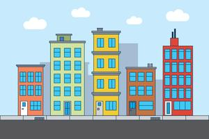 illustration rue de la ville