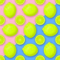 fond de vecteur de citron vert