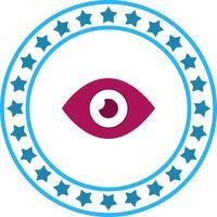 Icône d'oeil de vecteur