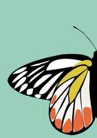 Papillon icône vecteur