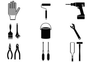 Pack de vecteur d'outils maison