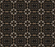 Modèle d'ornement sans soudure arabe. Motif décoratif ornemental vecteur