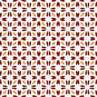 Transparente motif floral abstrait. symétrie style moderne