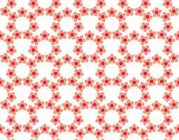 Tuiles florales Seamless Vector Pattern.flower texture géométrique pa