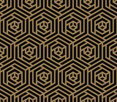 Textures géométriques élégantes de luxe moderne avec pat sans soudure de lignes vecteur
