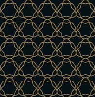 Modèle sans couture. Ornement de lignes graphiques. Backgro élégant floral vecteur