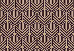 Modèle sans couture de vecteur. Texture élégante moderne. Répéter le fond géométrique. Conception graphique linéaire. vecteur