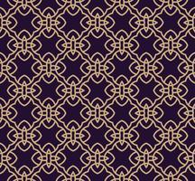 Modèle sans couture de vecteur. Texture élégante moderne. Ornement linéaire géométrique. vecteur