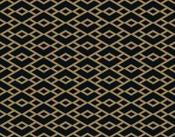 Modèle sans couture de vecteur. Texture élégante moderne. Ornement géométrique à rayures. vecteur