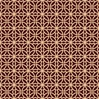 Motif géométrique de luxe. Modèle sans couture de vecteur. Texture élégante linéaire moderne. Ornement géométrique à rayures. vecteur