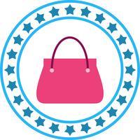 Icône de vecteur Lady Bag