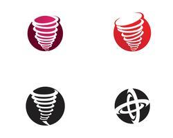 Illustration vectorielle de tornade symbole