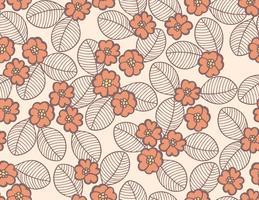 douce fleur fond floral vecteur