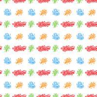 coloré motif de joyeux anniversaire fond
