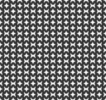 Modèle sans couture géométrique abstrait. Répétant géométrique texture noir et blanc. décoration géométrique vecteur