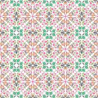 motif floral sans couture avec fond de couleur lisse