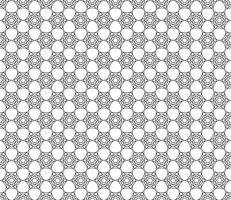Motif de papier peint vintage sans couture hexagonal Art Deco