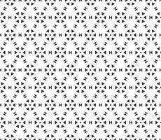 Modèle sans couture géométrique abstrait. Répétant géométrique texture noir et blanc. décoration géométrique