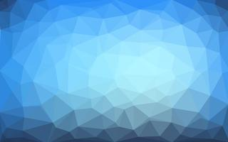 Vecteur bleu clair fond de cristal basse poly. Conception polygonale pa