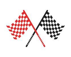 drapeau modèle logo et vecteurs symbole vecteur