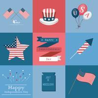Éléments de la fête de l'indépendance