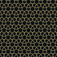 illustration vectorielle de lignes abstraites ornement sans soudure