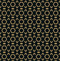 Modèle sans couture de vecteur. Texture élégante moderne. Répétant les carreaux géométriques à la mode avec la ligne hexagonale. vecteur