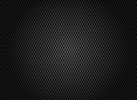 Texture abstraite en fibre de carbone sur fond sombre.