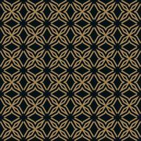 illustration vectorielle de lignes abstraites ornement sans soudure vecteur
