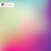 Abstrait coloré brillant avec la texture des lignes rayées et fond. vecteur