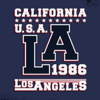 Timbre vintage de Californie