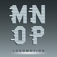 Modèle de police de logotype