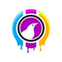 Création de logo d'impression numérique