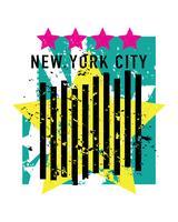 New York City bel élément de design vecteur